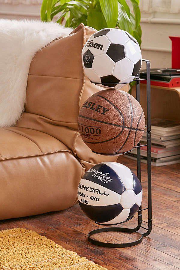 Best ball storage ideas on pinterest garage