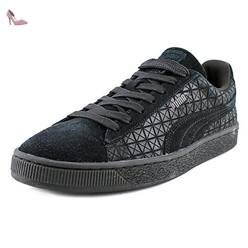 Puma Suedeon Suede Hommes US 13 Noir Baskets - Chaussures puma (*Partner-Link)