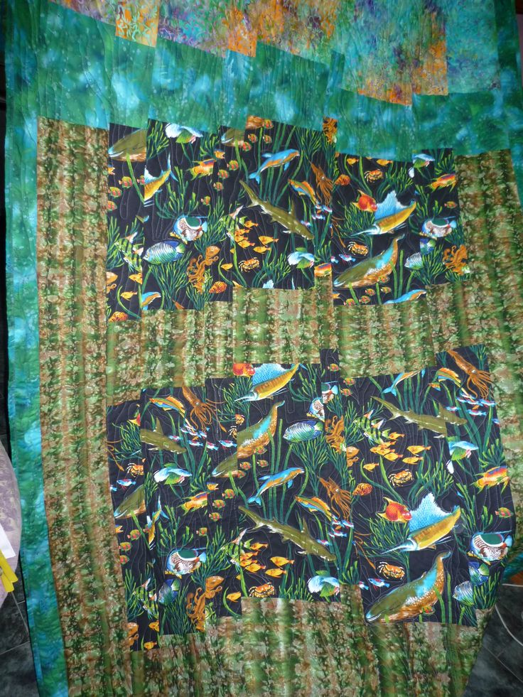 In the sea quilt - BaRb