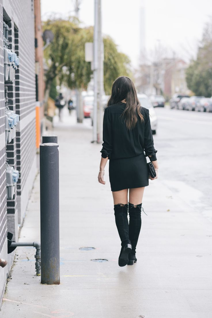 Stuart Weitzman 'Midland' Over The Knee Boots. More of this look on www.christinadesantis.com #overthekneeboots #stuartweitzman #fashion