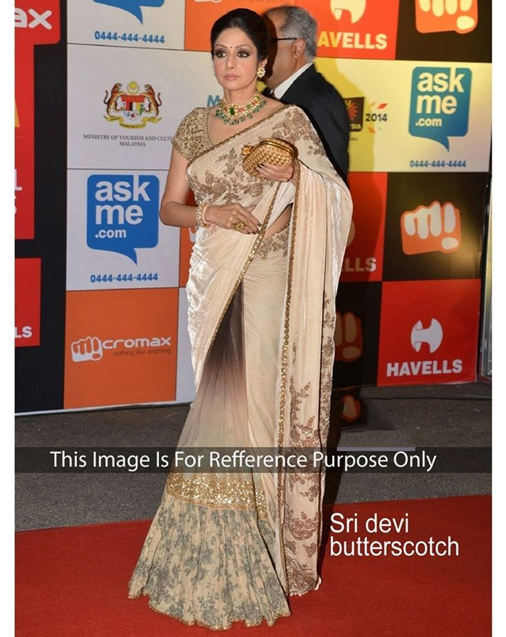 Buy Royal Creation Sri Devi Multi Velvet And Net Bollywood Saree at happydeal18.com, India's biggest shopping store