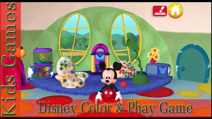[Kids Game] Disney Color And Phay Game Best App For Kids| NLHGAMECHANNEL