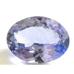 Tanzanite 1.245 ct oval cut 8x6.2 mm