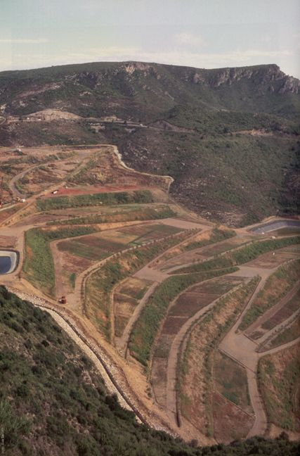 Restoration Of The Landfill in the Vall D'en Joan. Garraf. Spain. 2001 until now.
