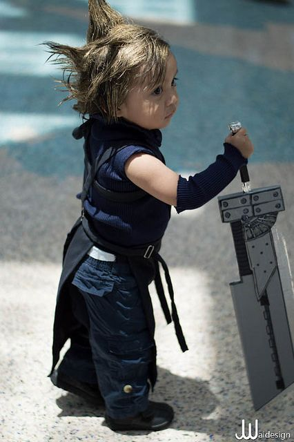 Cloud Strife from Final Fantasy VII Kid Cosplayer: unknown  Photographer: unknown  Location: AX 2012