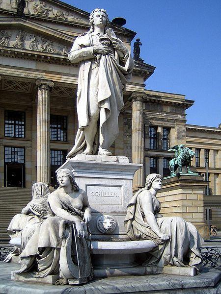 Schillerdenkmal Berlin Gendarmenmarkt