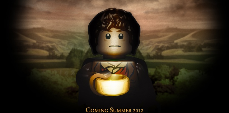 Lego has a Lord of the Rings license. Line launches this summer. I can hardly wait!