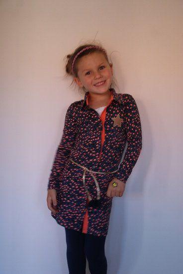 #Alexandra #Petrol/panter #Quapi #Kidswear -lot en Lynn Lifestyle  #wintercollectie 2014/2015  www.lotenlynn.nl