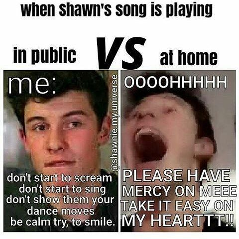 This is so me but I still sing in public. Just not as loud as I am at home