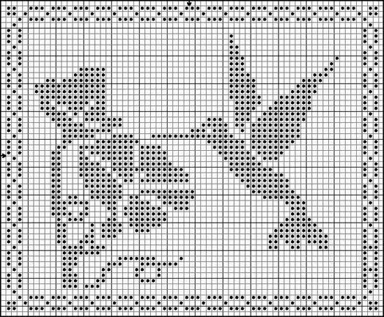 World crochet: Crocheted napkins l also doilies