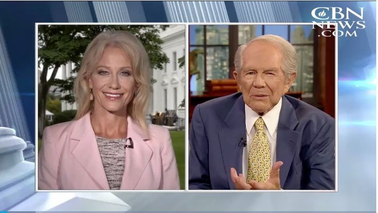 LOLROF. Kellyanne Conway, adviser to the man who cannot even address an ongoing federal disaster like Hurricane Harvey without making it all about himself, actually went on a Christian news network and straight up had the nerve to tell Pat Robertson that...