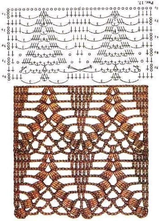 Lattice Crochet charts ... would make a beautiful broad edging !