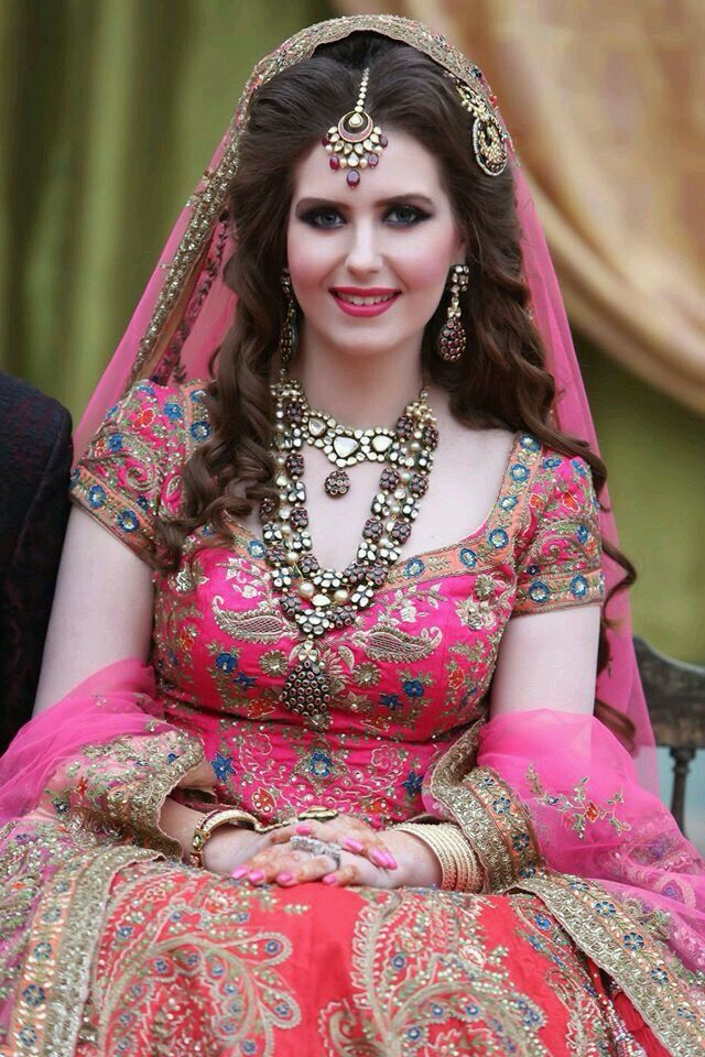 Pin by sonam kudale on Beautiful Brides | Pakistan bridal, Pakistani bridal makeup, Pakistani bridal
