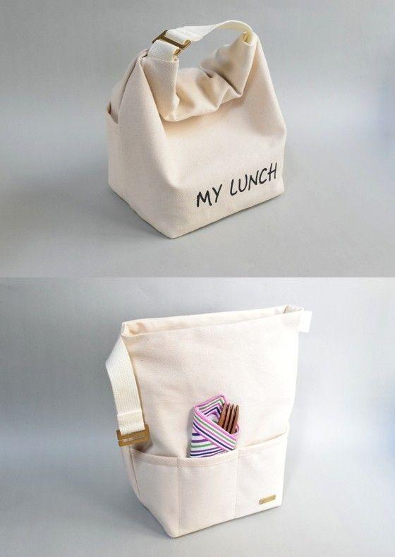 保冷ランチバッグM-MY LUNCH-の画像4枚目