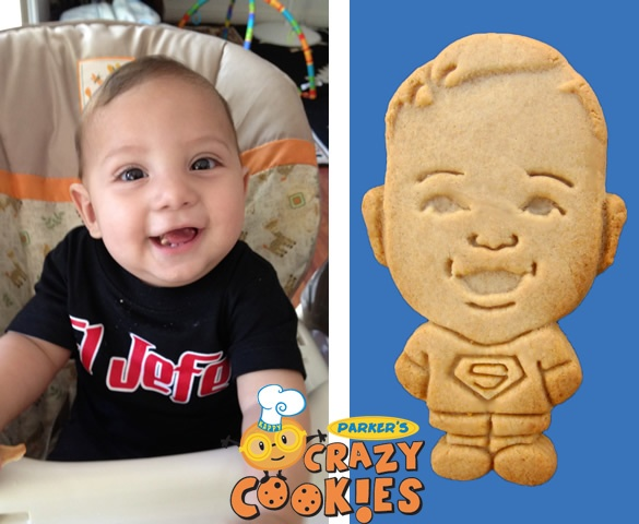 1st Birthday Party Ideas - Custom Cookies - Superman Party - Favors - Personalized