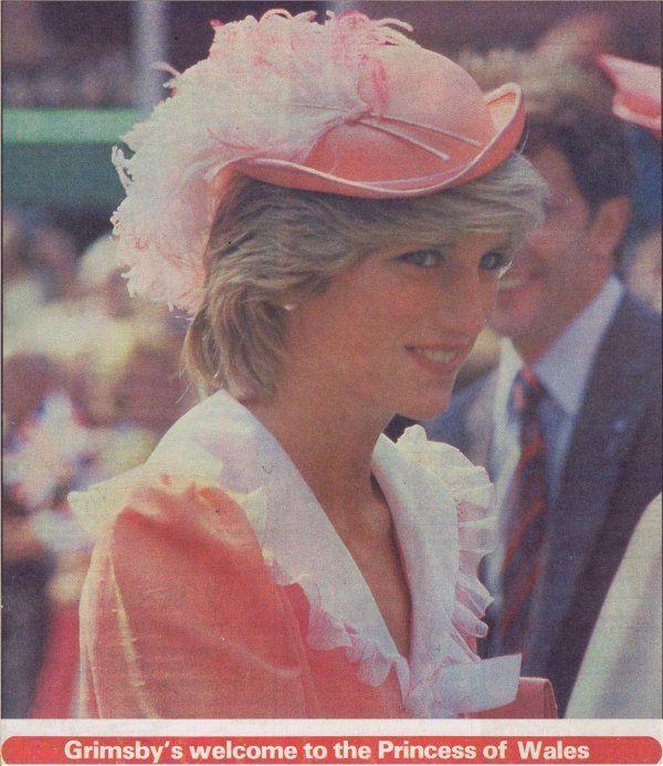 Princess Diana à Grimsby Town , Le 26 Juillet 1983