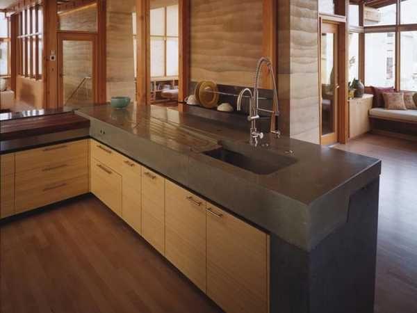 105 best Counter tops images on Pinterest Concrete kitchen
