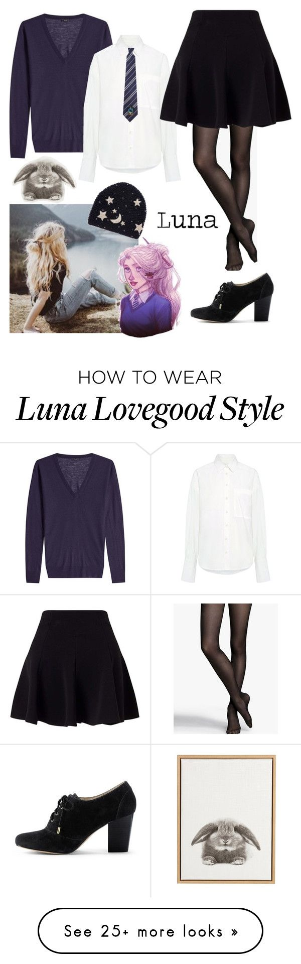 """""""Luna"""" by volitairia on Polyvore featuring GET LOST, Joseph, Sea, New York, Express, Miss Selfridge and Lands' End"""