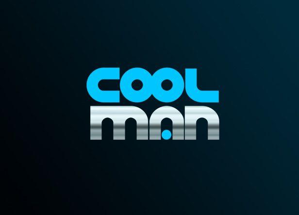 Logotipo para CoolMan, una peluquería masculina ubicada en el centro de Alicante. El logo se basa únicamente en una tipografía de fuerte personalidad. Sus trazos geométricos y simplificados contienen detalles muy modernos. Su exagerado grosor le da un toque muy robusto que transmite mucha fortaleza.