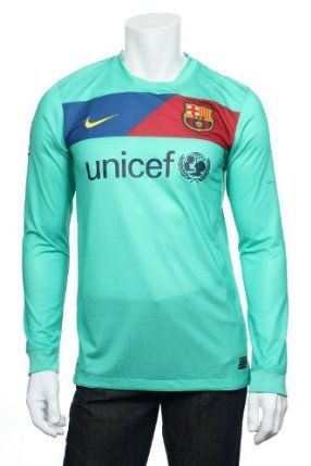 Nike FC Barcelona Jersey, Size 2XLarge by Nike. $72.00. UNICEF logo across front in black. Nike Authenticity patch on bottom. FCB patch on left chest. Nike Dri Fit, pulls away sweat to keep you dry and comfortable. Nike logo on right chest   LPF patch on right arm. Recycled Polyester. Features:Nike Dri Fit, pulls away sweat to keep you dry and comfortableFCB patch on left chestUNICEF logo across front in blackNike logo on right chest   LPF patch on right armNike Au...