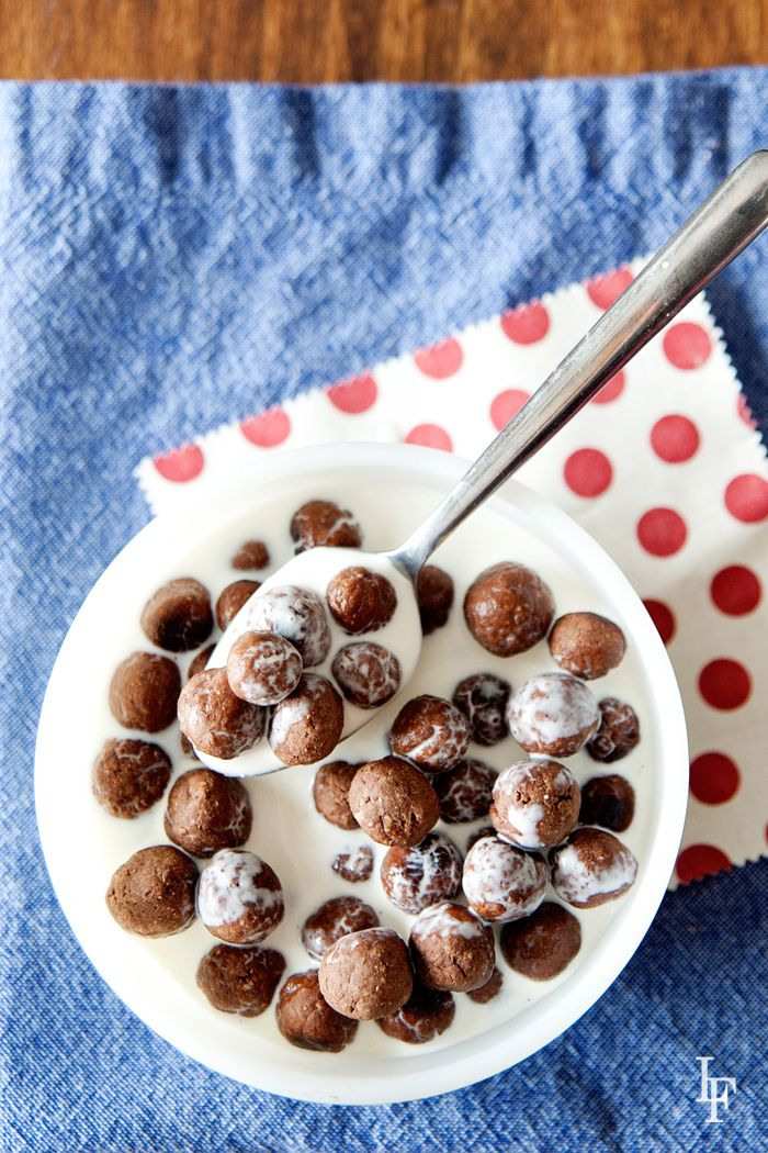 homemade cocoa puffs!