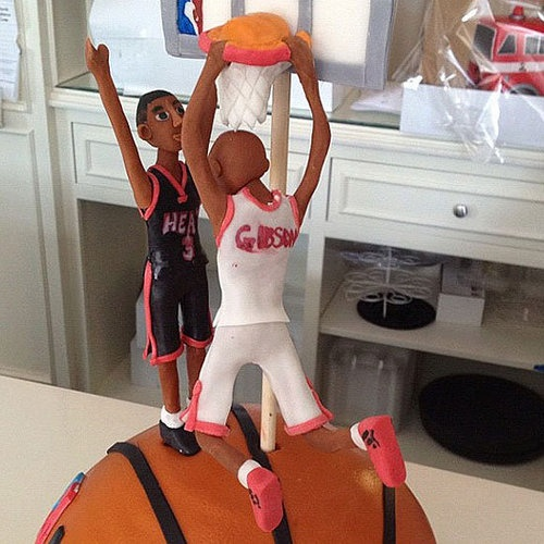 Taj Gibson's birthday was yesterday. Here's what his cake looked like: http://sports.yahoo.com/blogs/nba-ball-dont-lie/taj-gibson-posterizing-dwyane-wade-cake-now-video-140254005--nba.html;_ylt=ApQgIsZnRqElCfxlj9jJKPi8vLYF    Make sure to get your Taj Gibson merchandise at: http://www.clarkstreetsports.com/product.php?productid=4751=112=1