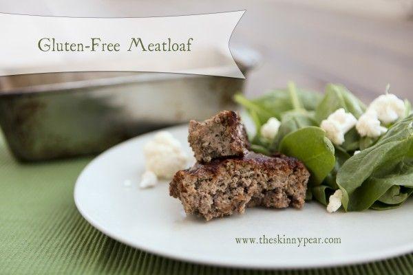 gluten-free meatloaf | Entres | Pinterest
