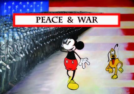 my next solo exhibition  PEACE & WAR  dal 14 al 29 marzo 2015 vernissage sabato 14 marzo ore 18.00  Sala Maier  Piazza Serra, 11 Pergine Valsugana (Tn)  curata da Carolina Bortolotti promossa da Comune e Biblioteca di Pergine Valsugana