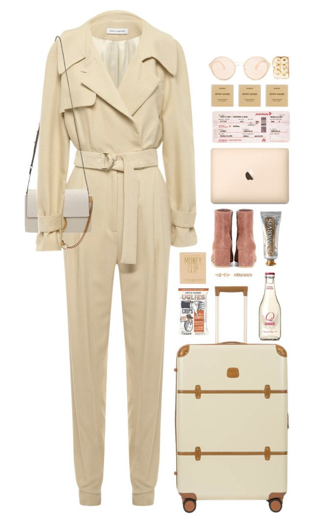 """*1757"" by cutekawaiiandgoodlooking ❤ liked on Polyvore featuring Bianca Spender, Bric's, Chloé, Gianvito Rossi, Marvis, Valentino, Izola, Prada, Byredo and neutrals"