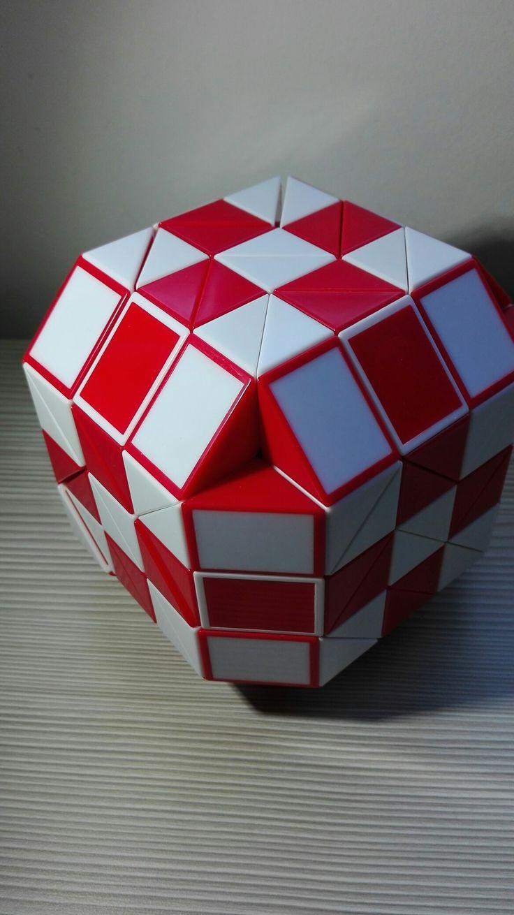 Cubo de 144 piezas, armado en 45 minutos