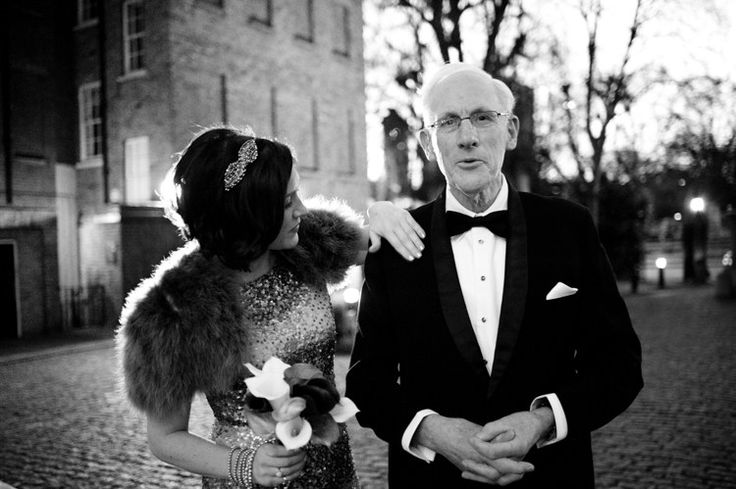 Intimate Winter Evening 1920s Black Tie London Wedding http://annelieeddyphotography.co.uk/