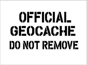 Lively image for official geocache printable