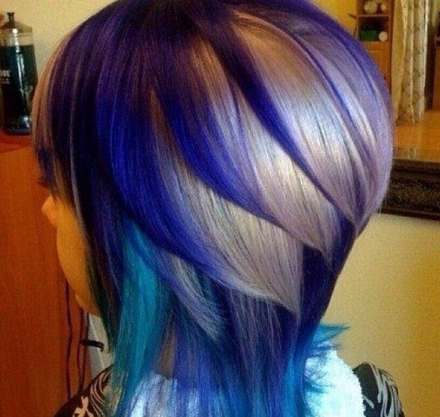 This hair color placement is awesome. Color, hair color