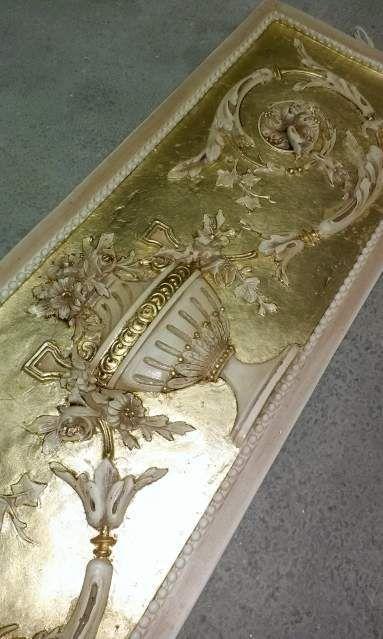 Coppale fiori gold oro foglia