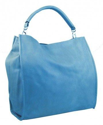 Velká taška na rameno New Berry 9010 světle modrá - Kliknutím zobrazíte detail obrázku.