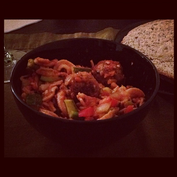Homemade Whole Wheat Pasta with Meatballs and Vegetables: Healthy Home Cooking, Whole Wheat Pasta, Hernan Healthy