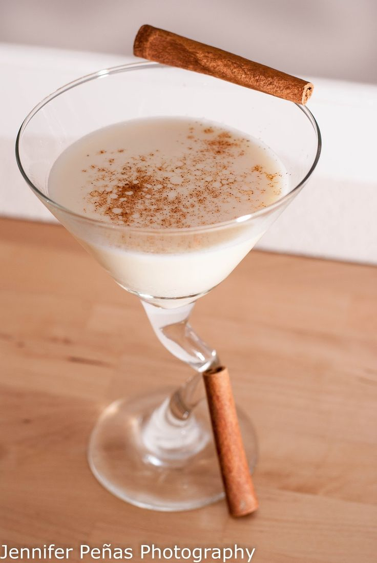 Eggnog Martini ~ A Year of Cocktails