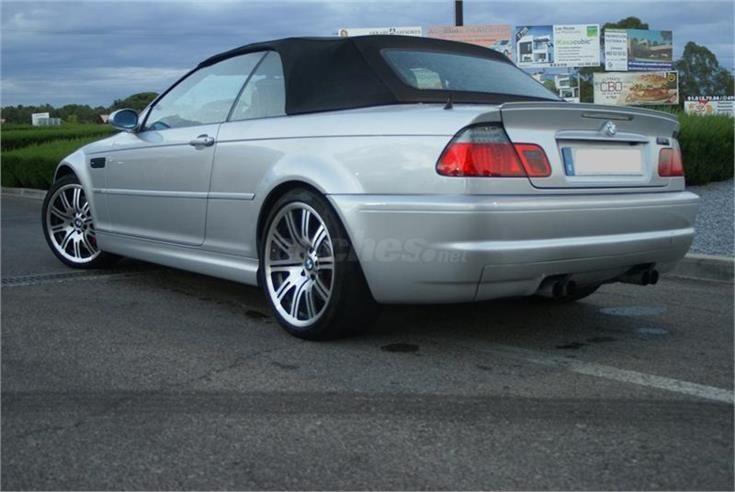 BMW Serie 3 M3 Gasolina GRIS del 2004 con 140000km en Madrid