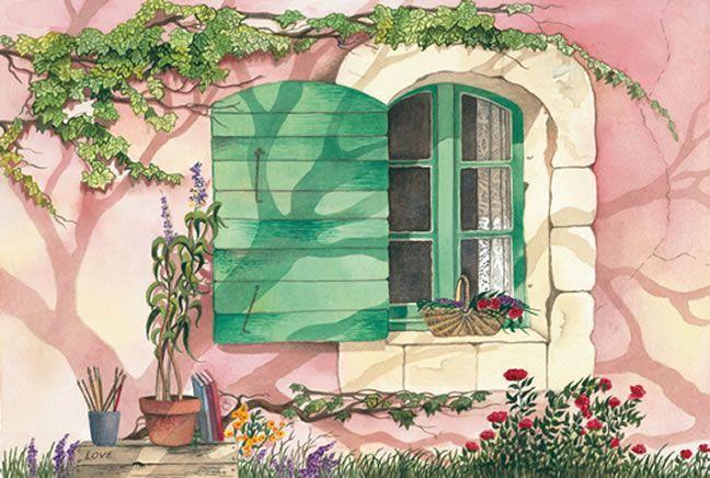 Giclee Paintings Doors And Windows