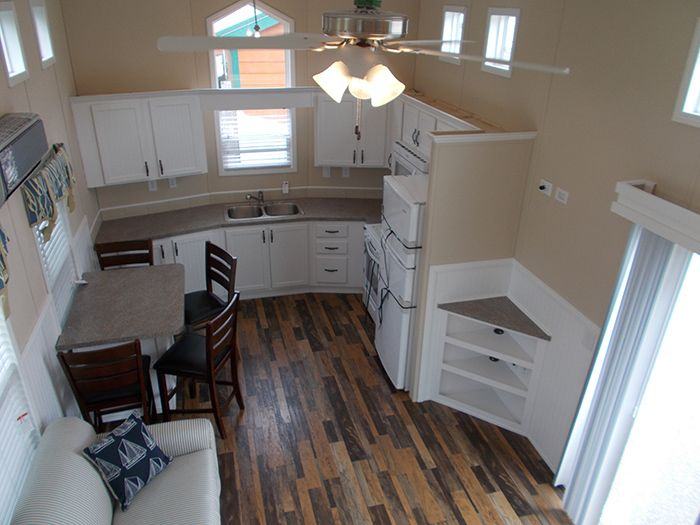88 best park model images on Pinterest Tiny spaces Kitchen and