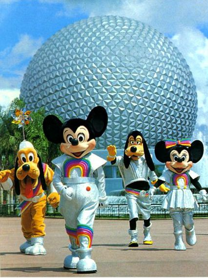 Just love 80's Epcot Center!!