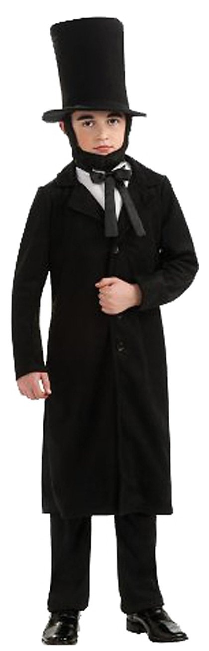 Rubies Deluxe Abraham Lincoln Costume A proud citizen of any children's Halloween party...