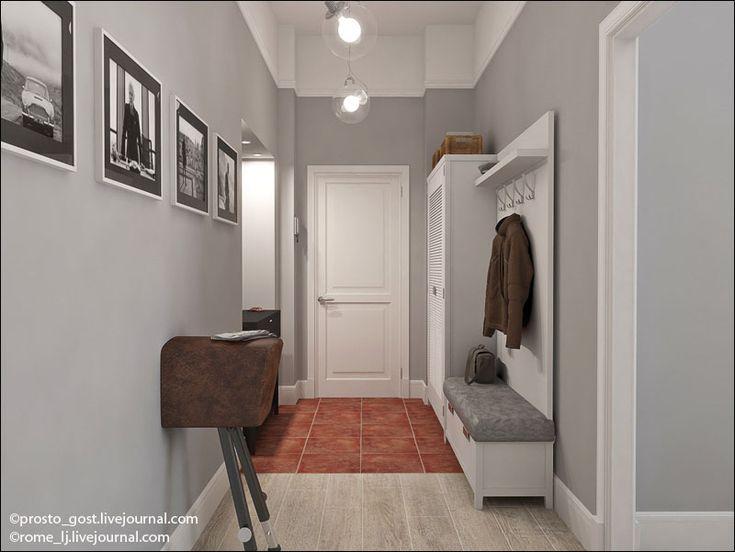 коридор цветовая гамма