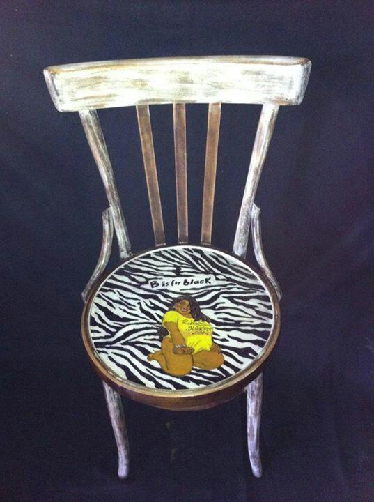 Sedia zebrata