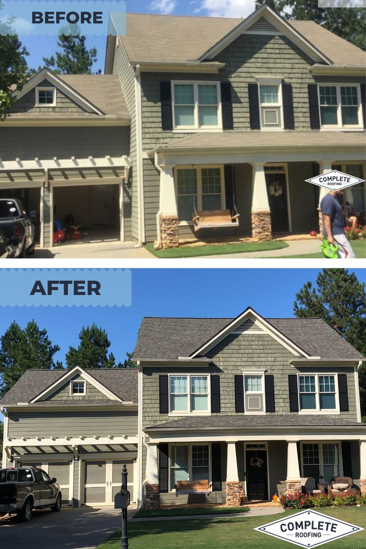 Before & After Roof in Dallas, GA in 2020 Roofing