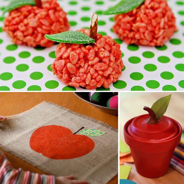 #DIY Back to School Apple Crafts