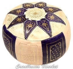 Great Room- Moroccan Pouf (hassock)