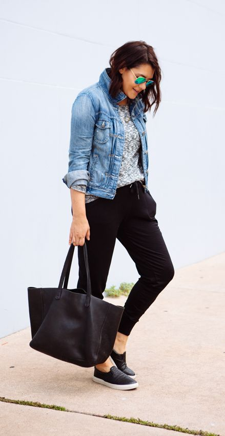 Fashion Fix: The jogger pant is our new best trend. Who knew comfort wear could look so chic?
