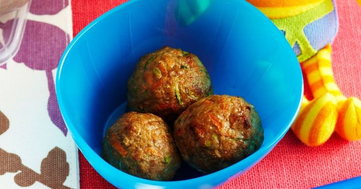 Good nutrition is important for growing babies, so fill your little one up with these homemade meatballs.