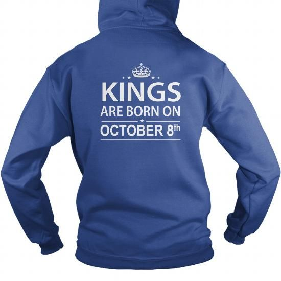 Cool Birthday October 8 kings SHIRT FOR WOMENS AND MEN ,BIRTHDAY, QUEENS I LOVE MY HUSBAND ,WIFE Birthday October 8-TSHIRT BIRTHDAY Birthday October 8 yes it's my birthday T shirts